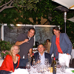 Sippity Sup dines with Dennis Cakebread et al