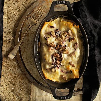 Cannelloni in Staub cast iron casserole