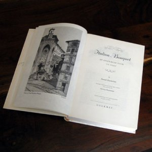 old epicurean travel guide to Italy
