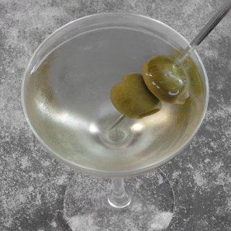 Perfectly mixed Martini