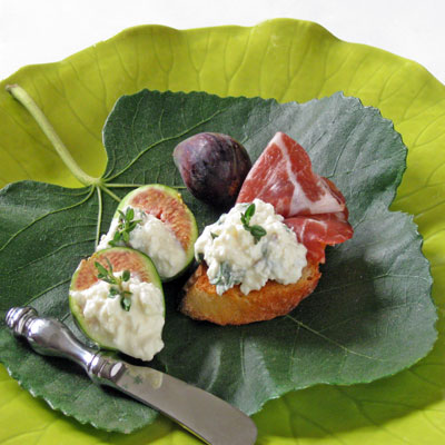 figs feta honey appetizer