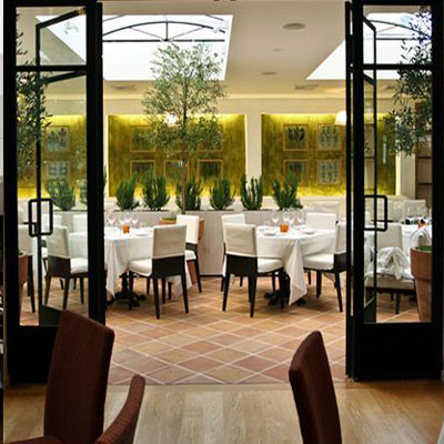 fig & olive Melros Place dining room