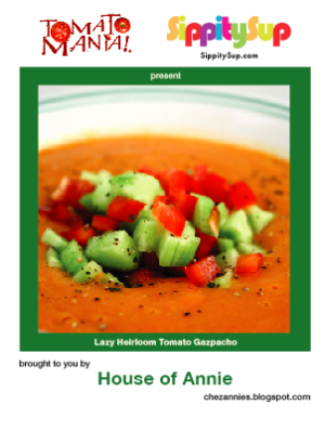 Gazpacho recipe card