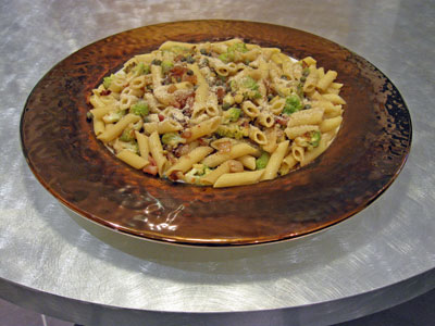 pasta with cauliflower and pancetta