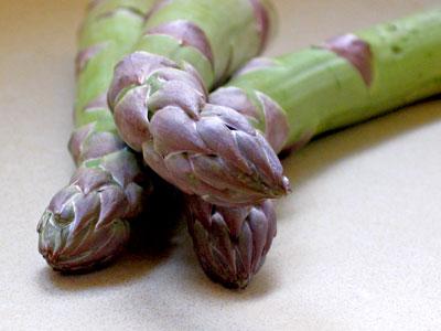 perfect asparagus tips