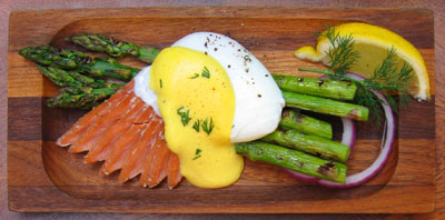 poached eggs with hollandaise saucealternative