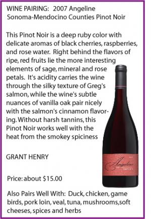 Click for More on Angeline Pinot Noir