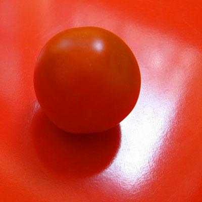 Jenny is an orange cherry tomato