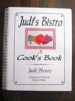 Judi's Bistro recipes from my mother