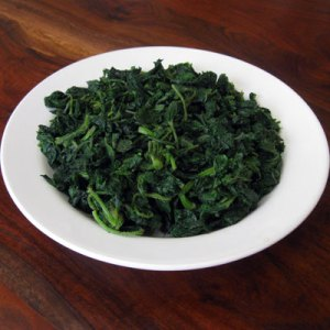 cooked nettles