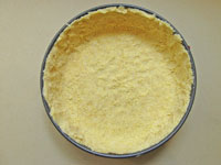 cornmeal crust for cheesecake
