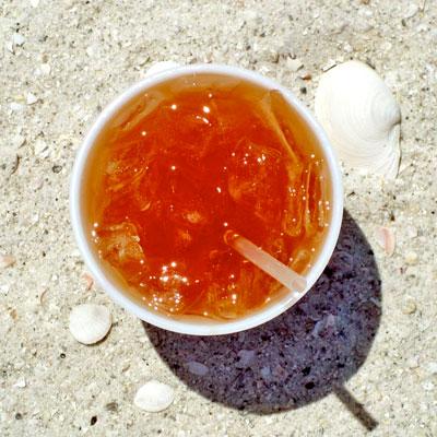 rum runner on the beach