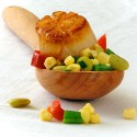 scallops and succotash