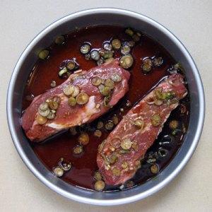 marinating steaks
