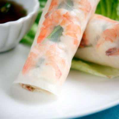 shrimp vietnamese spring rolls