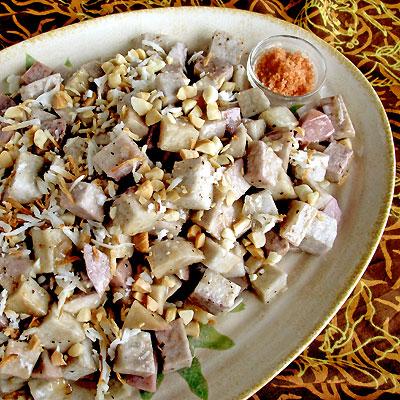 Coconut Baked Taro