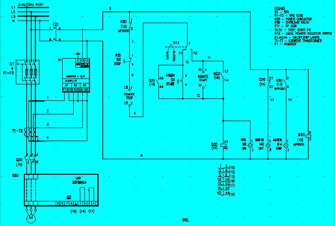 Pcc Panel Wiring Diagram