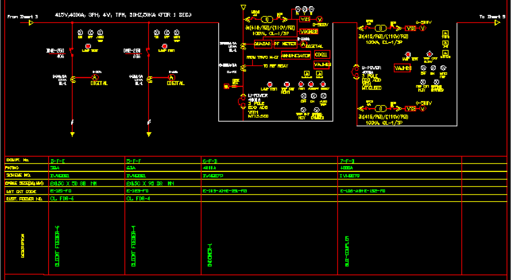 medium resolution of single line diagram