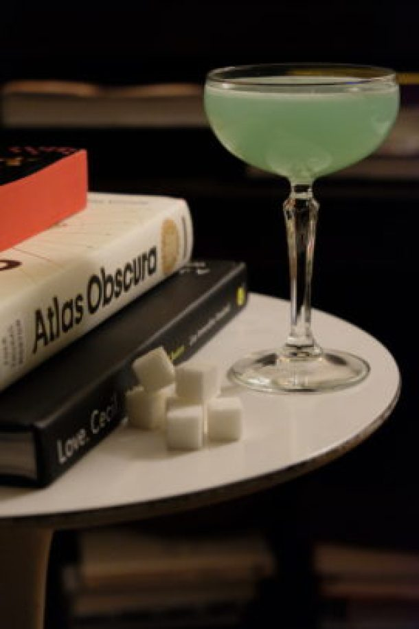 Absinthe Sour Cocktail