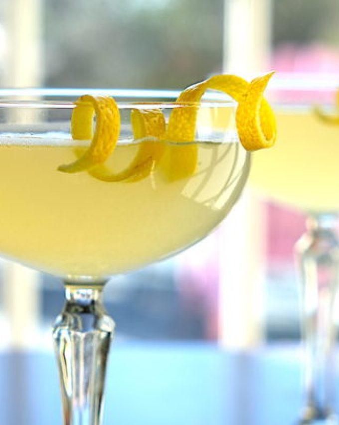Vanilla Lemon Drop Martini