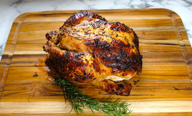 Buttermik Roast Chicken