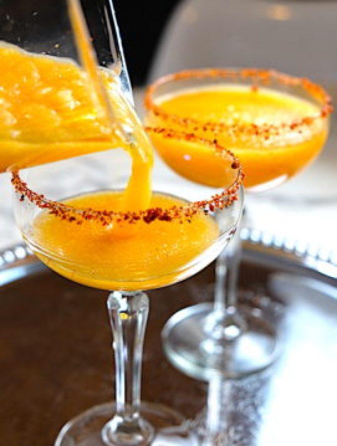 Tajín Mandarin Orange Margarita