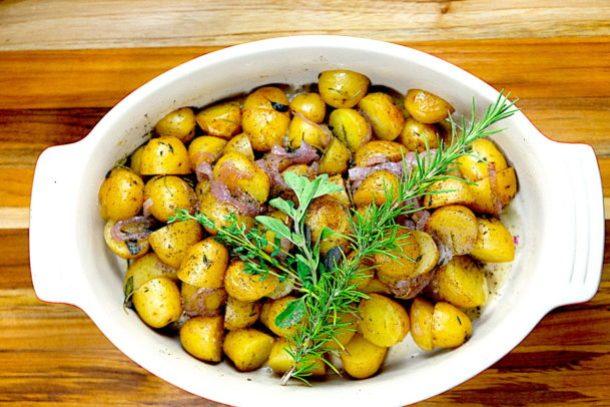 Herbed New Potatoes