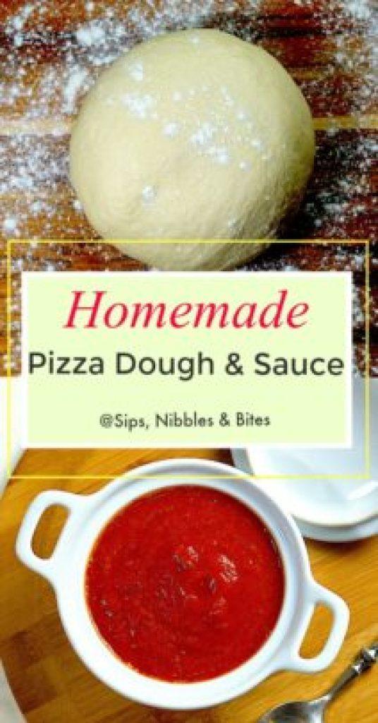 Pizza Dough & Sauce