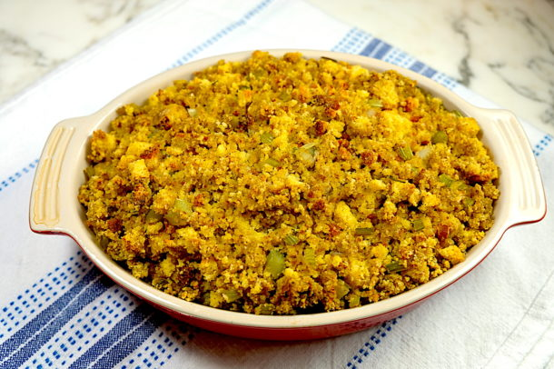 My Mom's Cornbread dressing