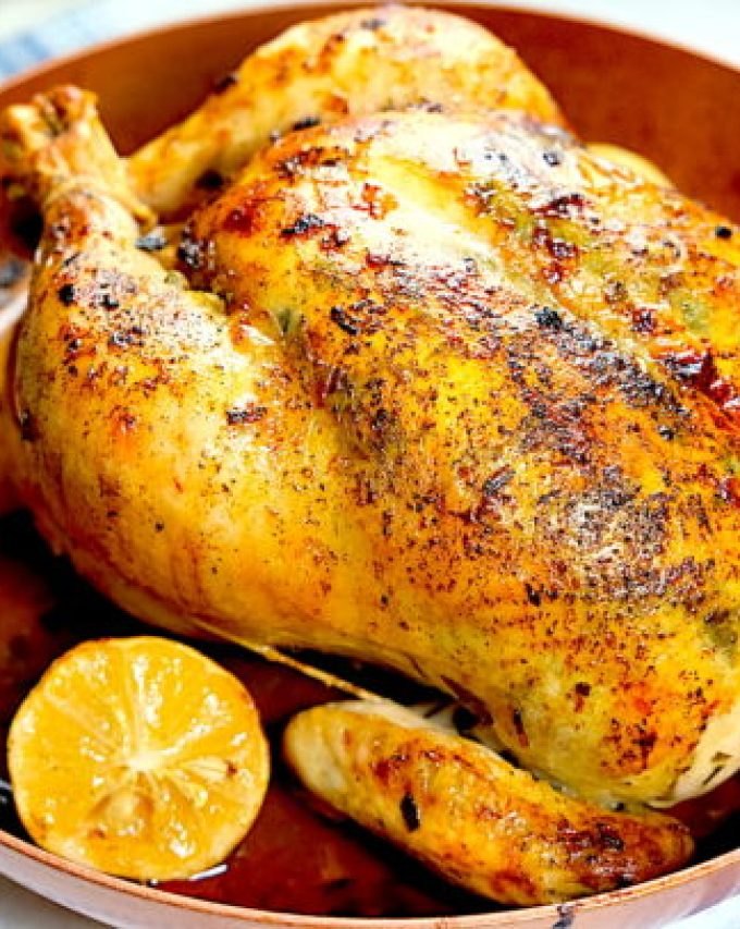Buttery Herb Roasted Chicken