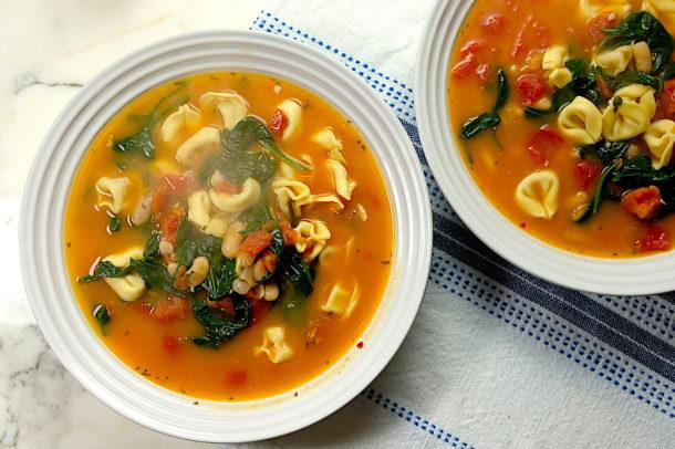 tortellinni soup