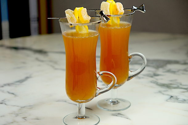Candied Ginger Hot Toddy