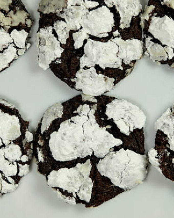 Chocolate mascarpone cookies
