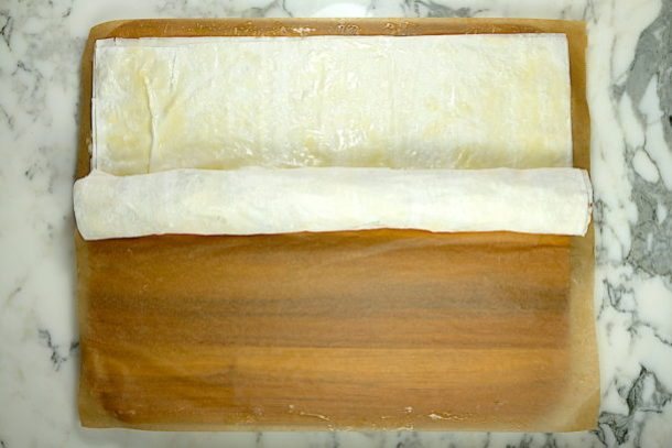 Apple Strudel with Phyllo Dough