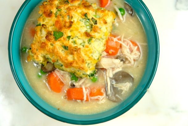 Home-style Chicken and Biscuits