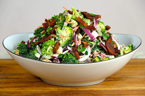 Crispy Bacon Broccoli Salad