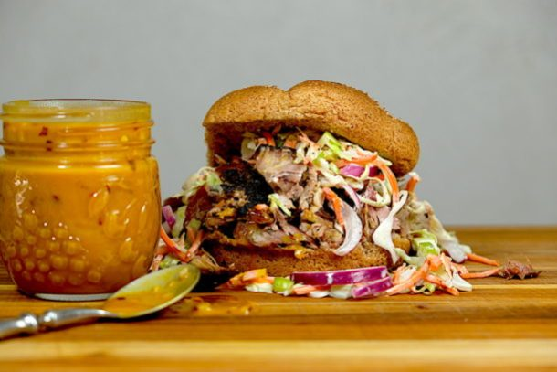 Carolina Honey Mustard BBQ Sauce