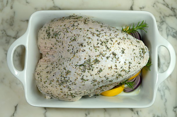 herb Buttermilk marinated Turkey Breast