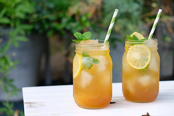Bourbon Honey Lemonade