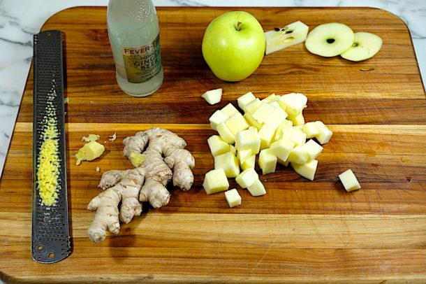 ginger apple sauce