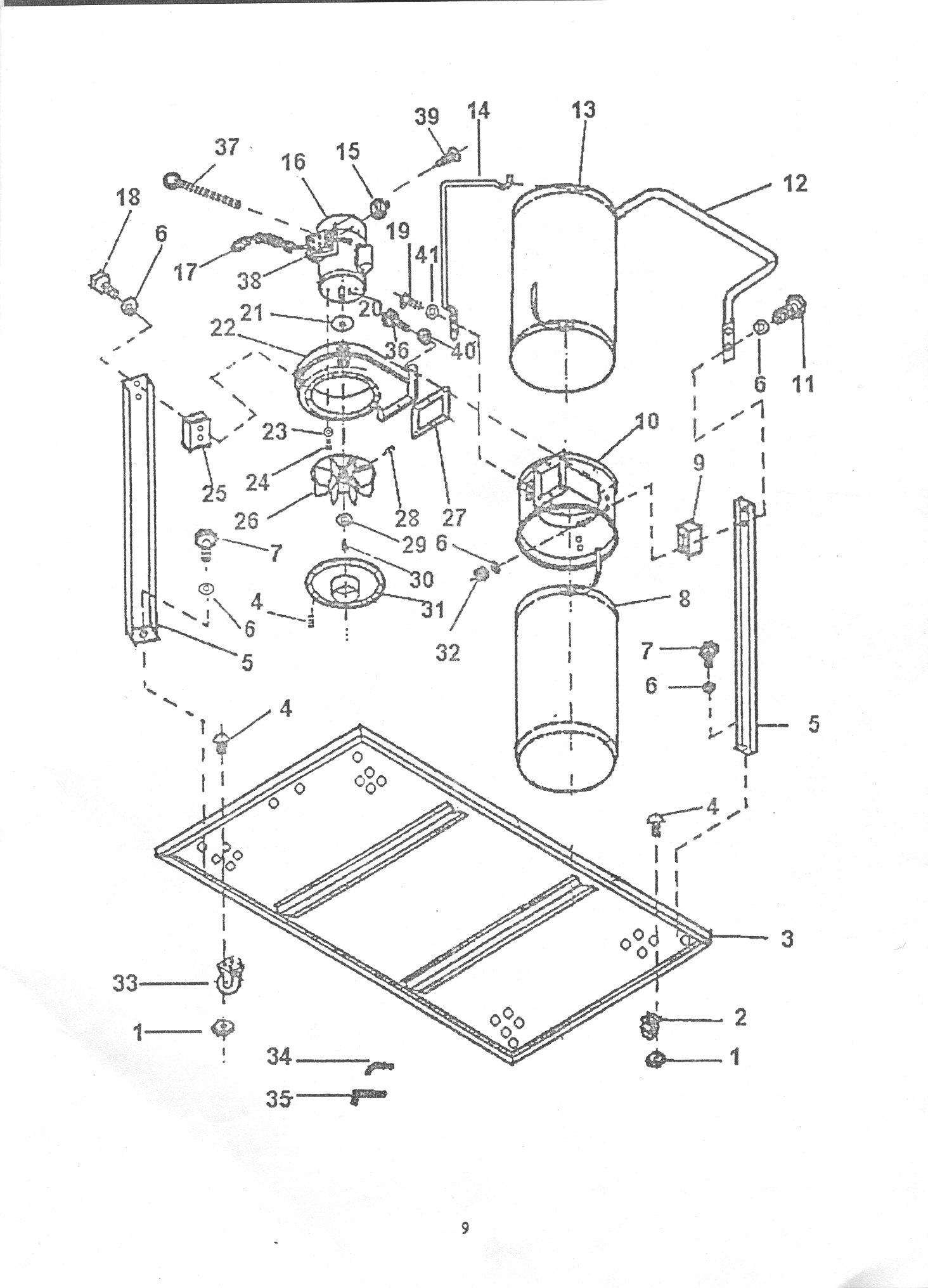 SIP 01342 Dust Collector Diagram
