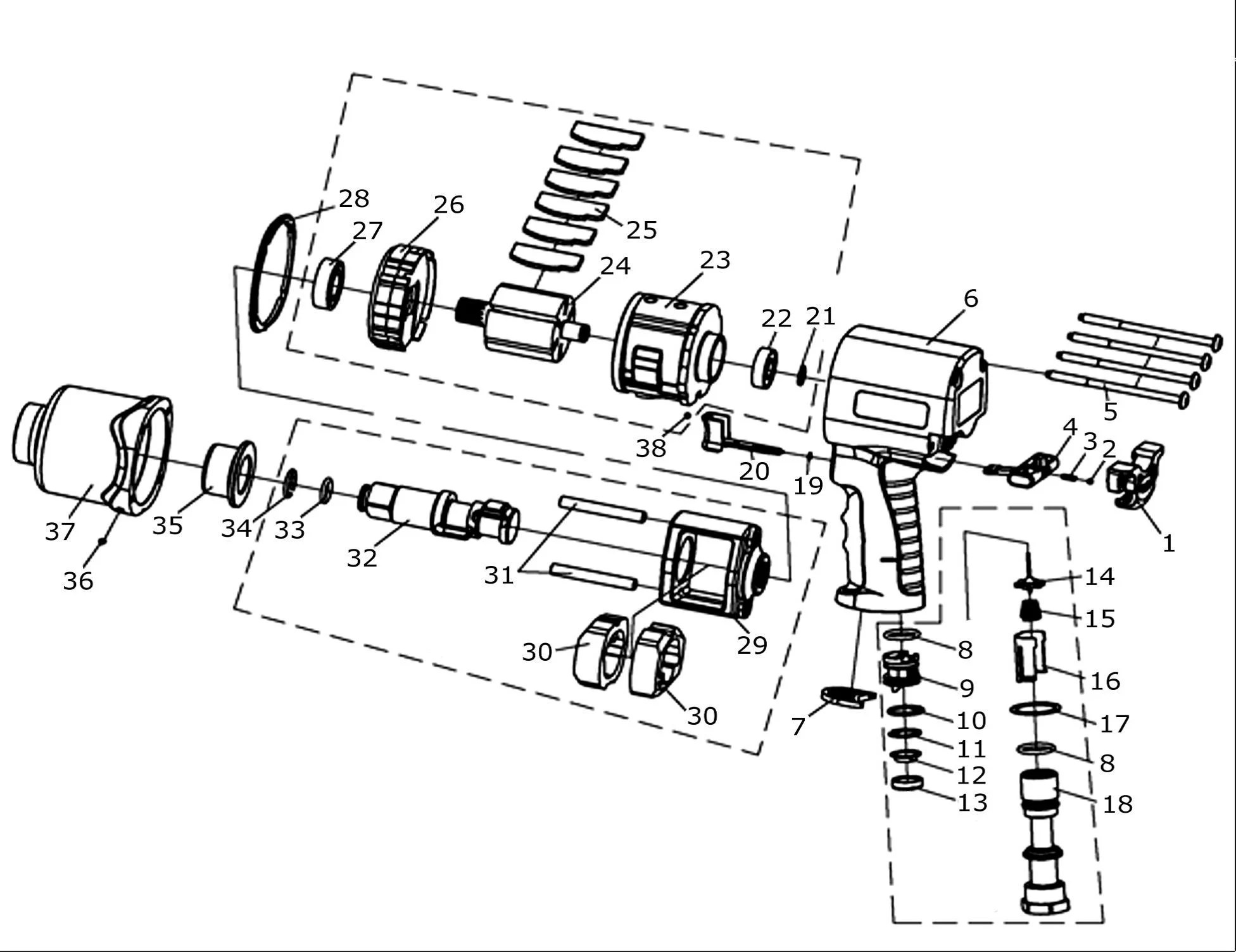 Chicago Pneumatic Schematics