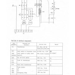 Sip Spot Welder Wiring Diagram 2007 Ford Focus Alternator 07786 12 Quot Metal Cutting Bandsaw White Switch Box