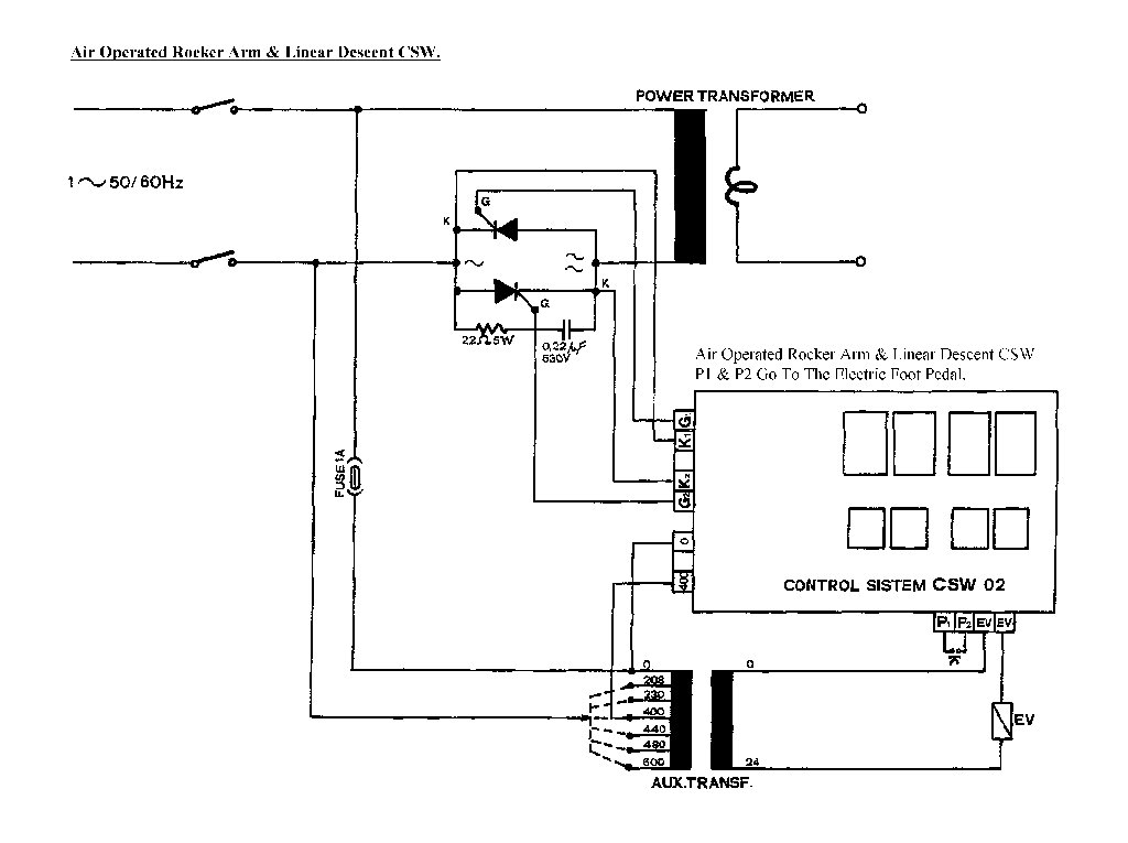 mig welder wiring diagram 277v sip 03021 pneumatic rocker arm spot circuit