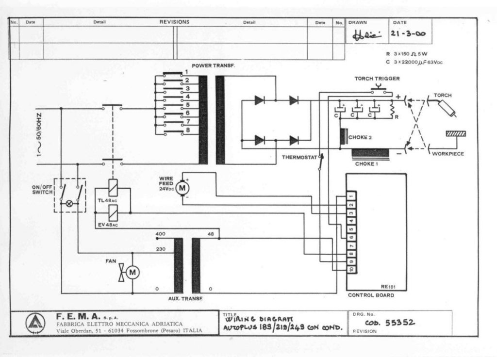 SIP 06530 Autoplus 219 DP Circuit Diagram