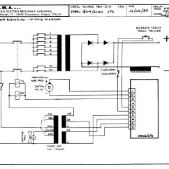 Spot Welder Wiring Diagram 6 Pin Trailer Plug Sip 02603 Ideal 210n 415v Circuit