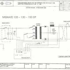Sip Spot Welder Wiring Diagram 96 Honda Accord Ignition 25033 Weldmate T150 Dp Circuit