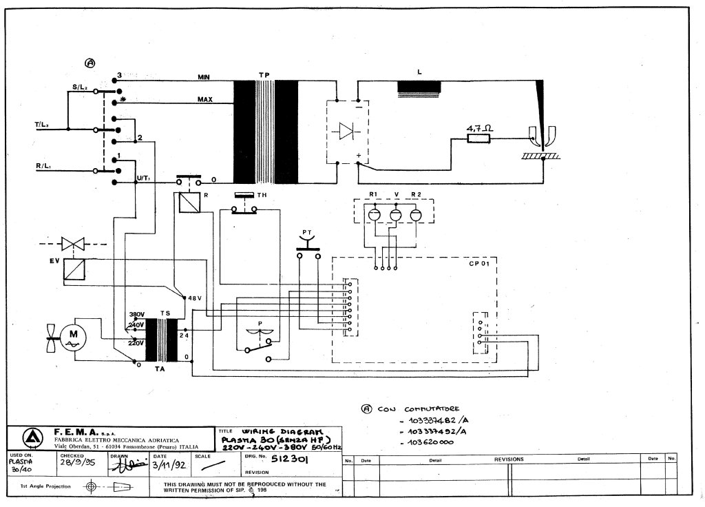 SIP 06940 Plasma 30N Circuit Diagram