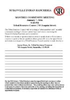 2016JanuaryCommunityMeeting