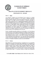 Organization Sponsorship Ordinance 2019-003